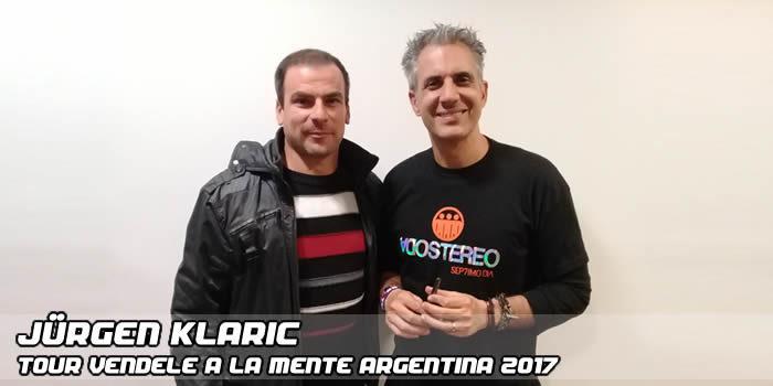 Alvaro Cano Con Jurgen Klaric Tour Vendele A La Mente Argentina 2017